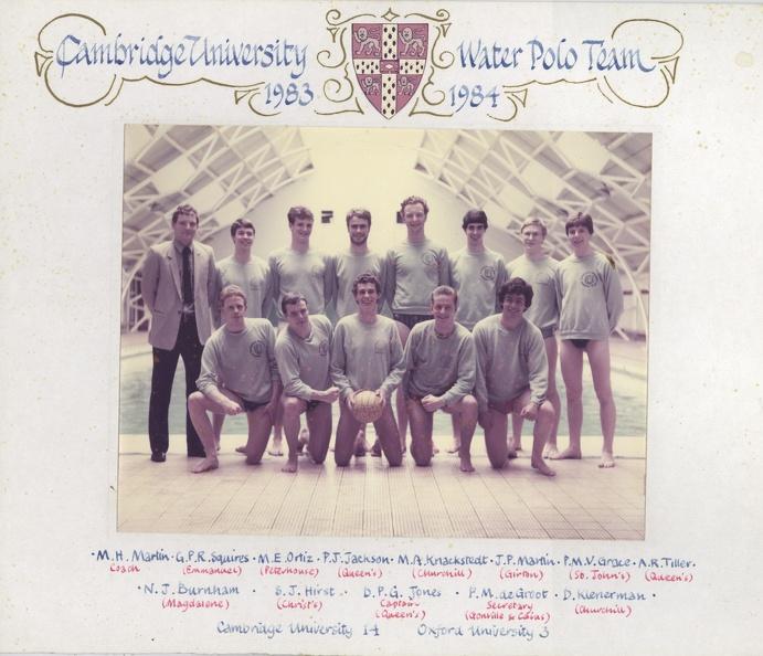 Men's Water Polo 1983-84