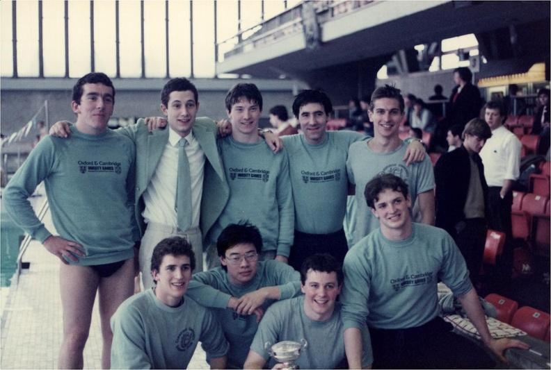 Men's Water Polo Varsity 1989-90
