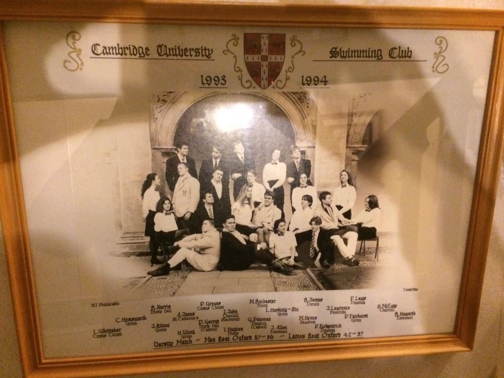 Swimming Club 1993-94