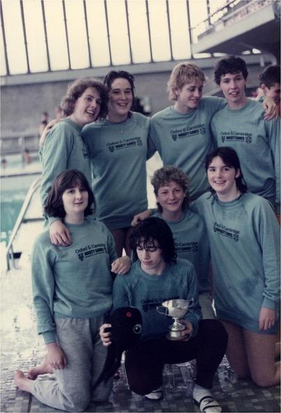 Women's Water Polo Varsity 1988-89 (2)