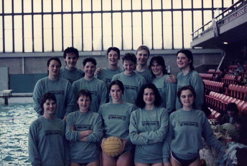Women's Water Polo Varsity 1988-89
