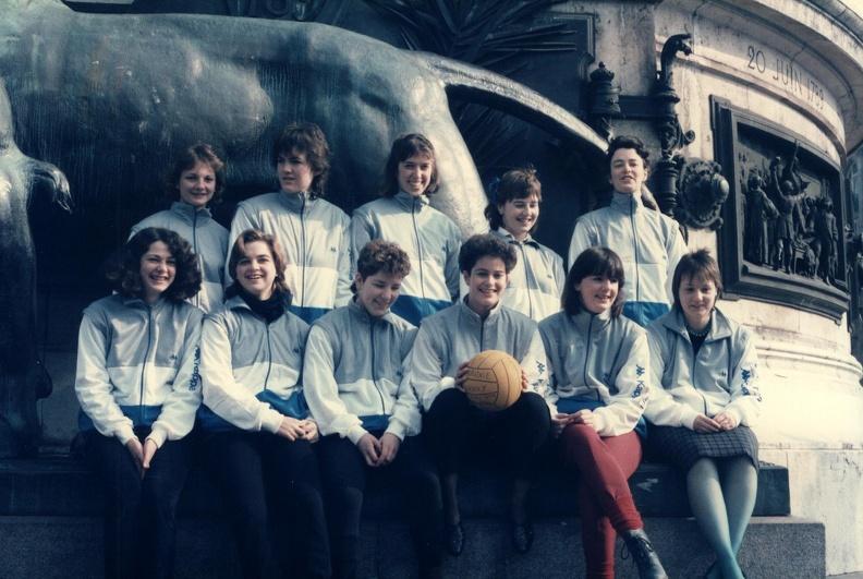 Women's Water Polo in Trafalgar Square 1989-90
